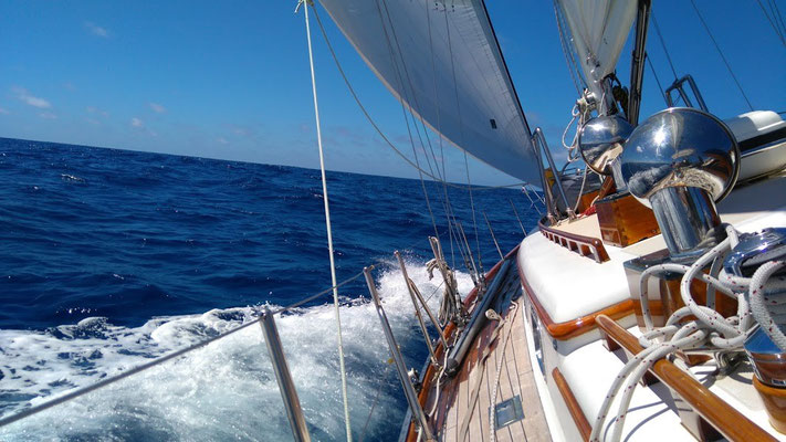 Madeira bound, Atlantic yacht delivery