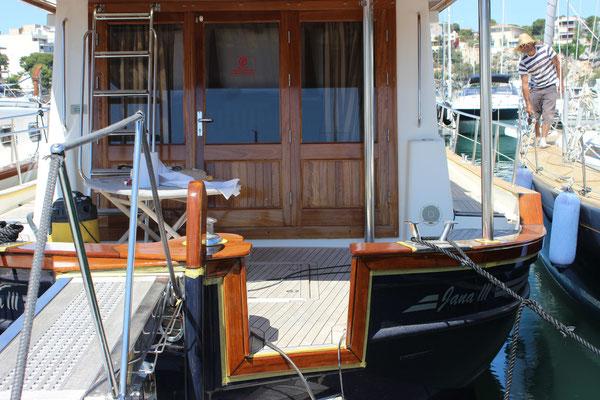 re varnishing on the Menorquin 160