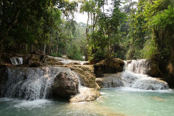 Cascades de Tat Kuang Si