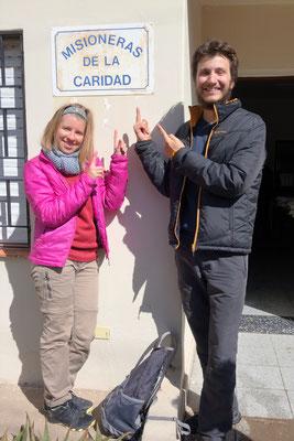 Chez les Missionnaires de la Charité de Buenos Aires