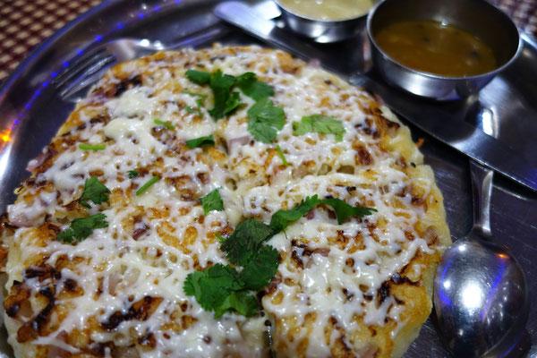 Le résultat dans l'assiette - Uttapam