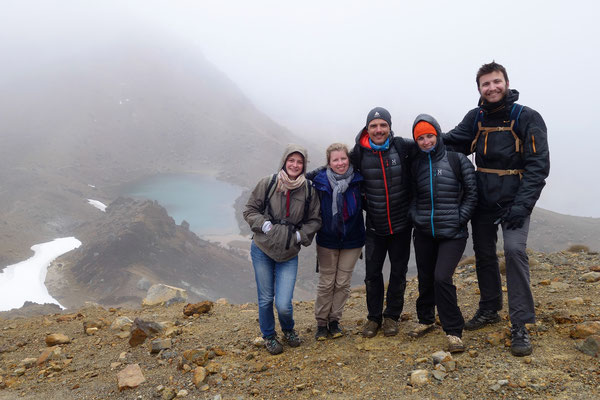 Tongariro Alpine Crossing - Entre Frenchies !