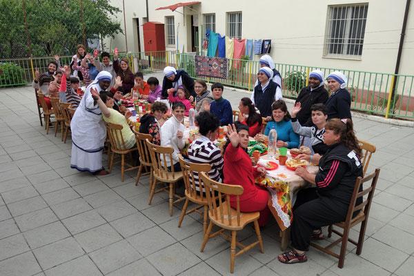 Chez les soeurs Missionnaires de la Charité