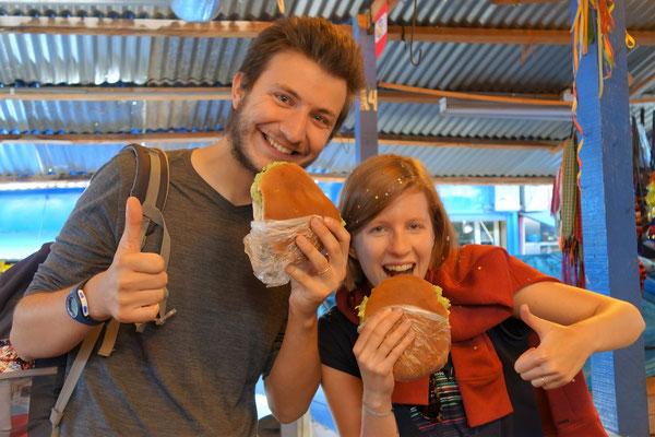 Marché de Wanchaq - best sandwich ever !