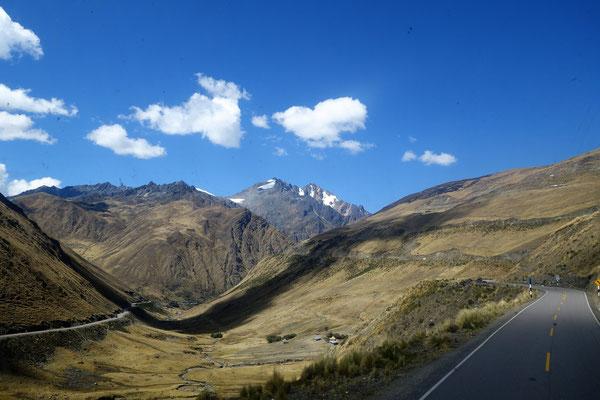 Sur la route du Machu Picchu