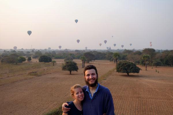 La vallée aux 1 000 temples - lever de soleil