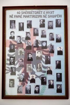 Les 38 martyrs albanais