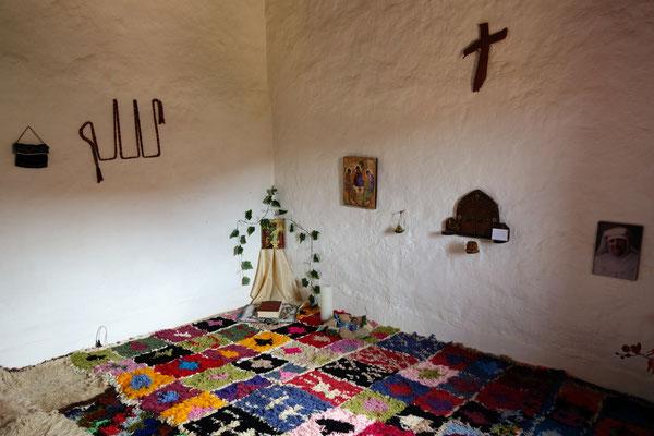 Visite chez les Sœurs Franciscaines de Tatihouine - Chapelle