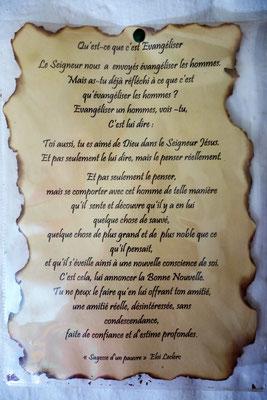 Visite chez les Sœurs Franciscaines de Tatihouine