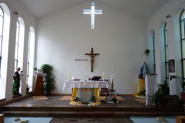 La chapelle des soeurs Missionnaires de la Charité