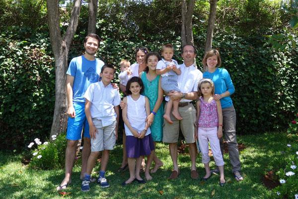 Avec la famille Jacquier