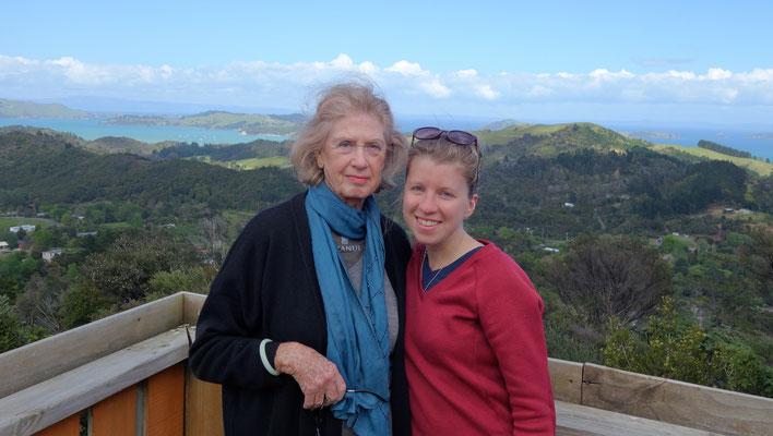 Avec Jenevere, ma grand-mère néo-zélandaise !