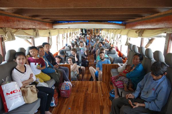 Croisière sur le Mékong - notre bateau