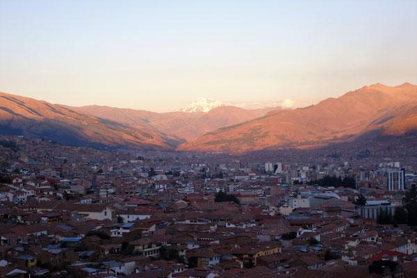 Vue sur Cusco depuis San Cristobal