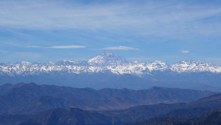 Mont Aconcagua - plus haut sommet en-dehors de l'Asie...