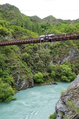 Kawarau Bridge, le pont dont Etienne va sauter...