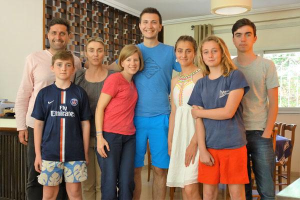 Avec la  famille Gervais de Lafond