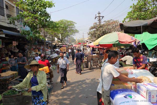 Marché de Mandalay