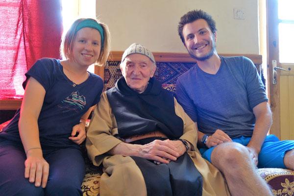 Avec Frère Jean-Pierre, dernier survivant de Tibhirine