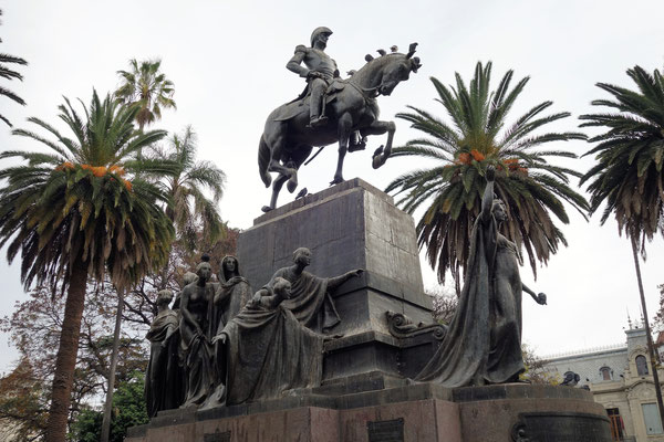 San Martin, libérateur de l'Argentine