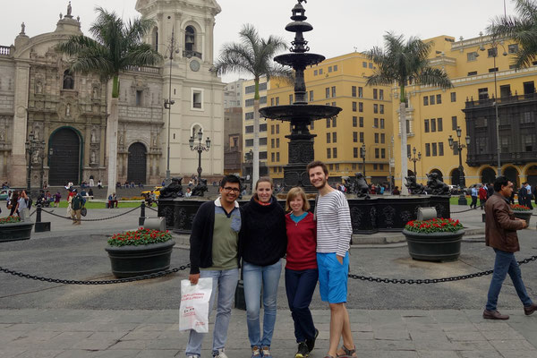 Avec nos hôtes : Adélaïde & Maximo
