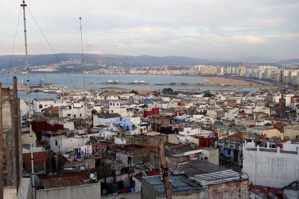 Vue sur la médina de Tanger