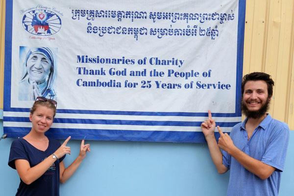 Chez les Missionnaires de la Charité de Phnom Penh !