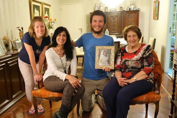 Chez Irma, notre 2ème grand-mère argentine !