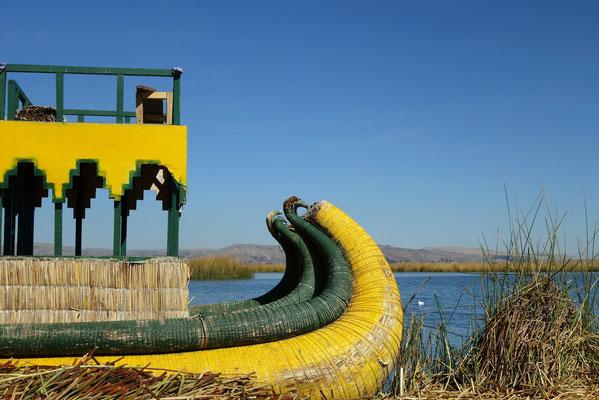 Île flottante d'Uros