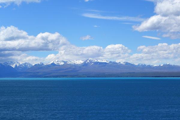 Des eaux d'un turquoise incroyable...