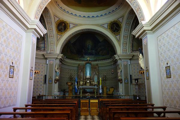Sanctuaire de Lourdes à Alta Gracia - la Vierge illuminée au fond est une apparition qui est là depuis 2011...