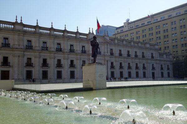 La Moneda, résidence du Président