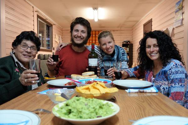 Chez les Missionnaires de la Charité, avec Carmen et Carole