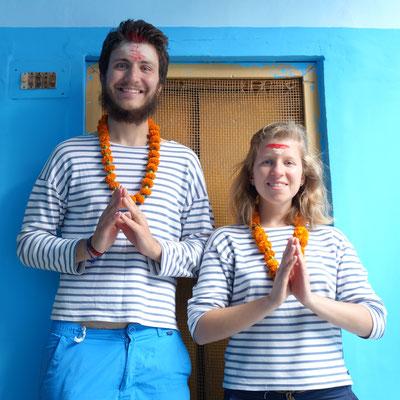 On se met dans l'ambiance hindoue dès l'arrivée :-)