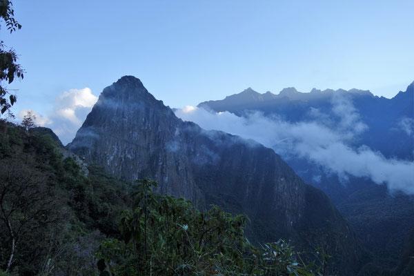 Ascension jusqu'au Machu Picchu