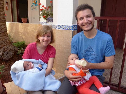 Mission baby-sitting chez les Missionnaires de la Charité !