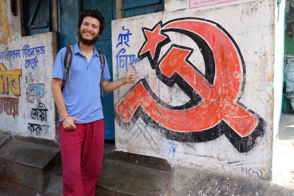 Calcutta, ville communiste...