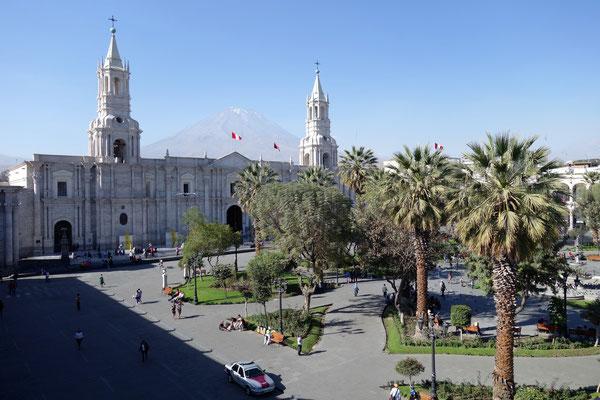 Plaza de Armas et cathédrale
