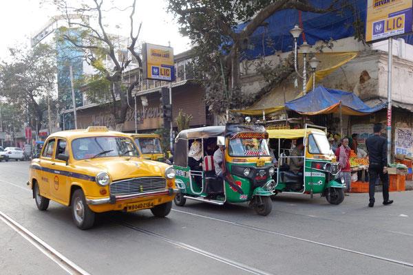 Trajet de notre hôtel à Mother House - Taxis & tuk-tuk