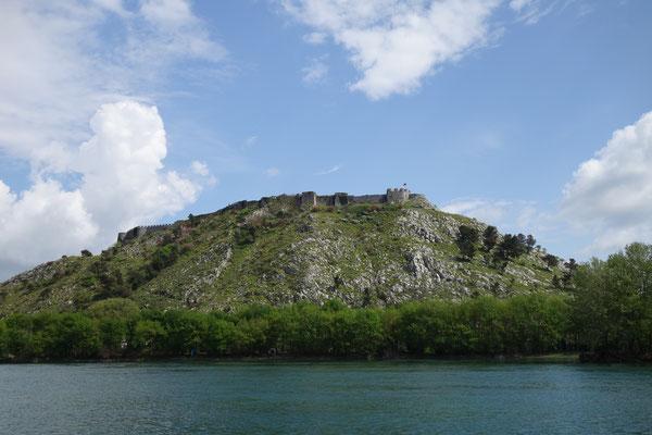 Le château de Shkodra