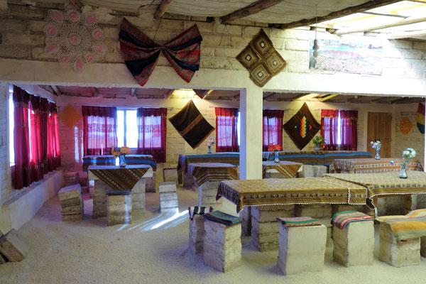 Salar d'Uyuni - Hôtel de sel !