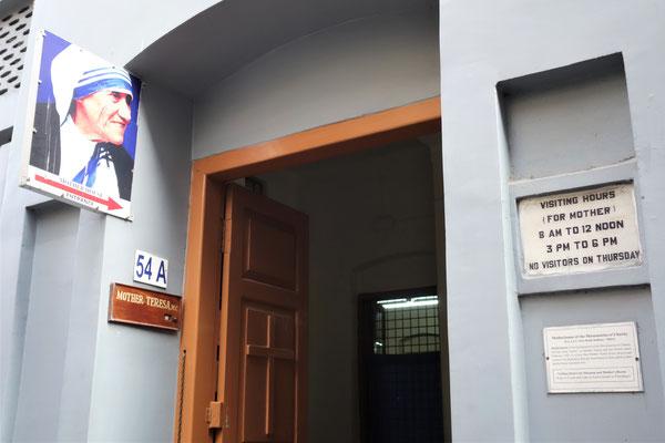 Mother House - La Maison-mère des Missionnaires de la Charité à Calcutta