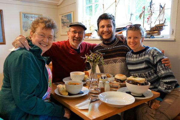 Avec Dave & Carol, nos chers amis !