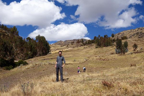 Perdus dans la montagne péruvienne...