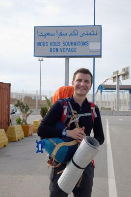 Etienne quitte l'Europe pour la 1ère fois !