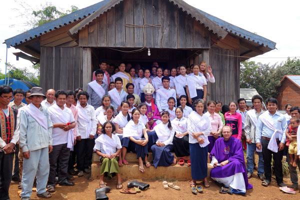 Les 50 futurs baptisés de la paroisse !