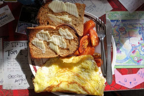Un bon petit-déjeuner pour se réchauffer le matin !