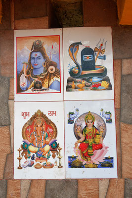 Temple hindou & bouddhiste