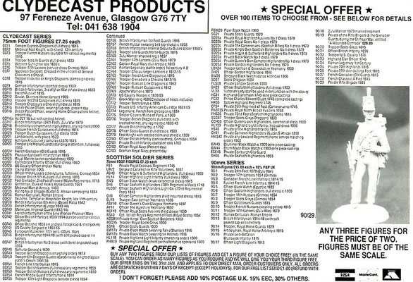 Clydecast products