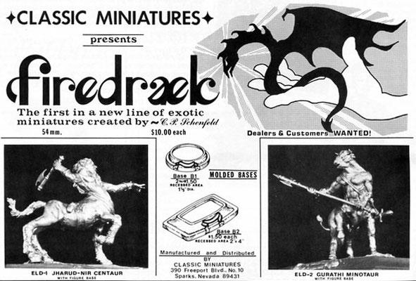 "Classic Miniatures ""Firedraek"""